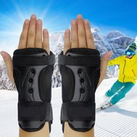 Wholesale eva gloves for sale - Group buy Outdoor Adjustable EVA Breathable Wrapping Protective Gear Gloves Black Lightweight Wrist Support Brace Roller Skating Hand Care