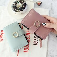 Wholesale ivory money bag for sale - Group buy Wallets Small Fashion Brand Leather Ladies Card Bag For Nice Clutch Women Female Purse Money Clip Wallet