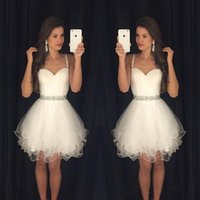 c97bb6fa2 Venta al por mayor de Corto Blanco Vestidos De Fiesta Backless ...
