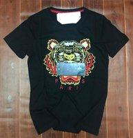 camisas de algodón puro de los hombres al por mayor-19ss nuevo yeezus logo bordado de algodón puro de alta calidad hombres mujeres camiseta yeezus kanye west XXLchaqueta kenzo