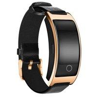 handgelenk-monitor armband großhandel-CK11S Smart-Armband-Blutdruck-Puls-Monitor-Handgelenk-Band-Fitness-Armband Fitness Pedometer Smart-Armband
