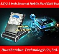 ingrosso porte seriali dei portatili-Mobile Hard Disk cartuccia hard-disk di base casella Disco Laptop Box esterno DeBroglie porta seriale da 2,5 pollici a 3,5 pollici