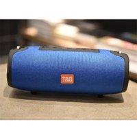 aktiver außenlautsprecher großhandel-Drahtloser mobiler Bluetooth-Lautsprecher Außensport Portable TG125 Bluetooth kleiner Lautsprecher Stereo-Desktop-Aktivlautsprecher 10W