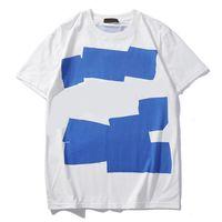 novo modelo camisas homens venda por atacado-Novo Mens Designer Verão Encabeça Camisas Casuais T para Homens Mulheres Camisa de Manga Curta Roupas de Marca Carta Padrão Impresso Tees Crew Neck letras