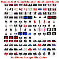 Wholesale american football beanie resale online - New American Football Team Beanies Sports Beanie Drop Shipping Thousands of Models Album Offered