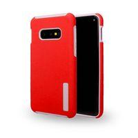 zırh çift katmanlı örtü toptan satış-LG K40 Stylo 5 Samsung A10E A20 Zırh Hibrid Vaka Çift katmanlı TPU PC Telefon Arka Kapak için Moto E5 Oyna G7 Güç Z4 Z3 oyna