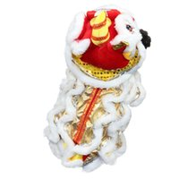Wholesale chinese new year accessories resale online - 2020 New Year Dog Clothes Chinese Dragon Dance Clothing Puppy Festive Cosplay Clothing Party Costume