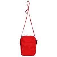 ingrosso zaino a telaio a cinghia-Supreme backpack channel bag louis vuitton gucci women luxury hand bag purses designer Moda Marsupio Uomo Canvas Hip-Hop Cintura uomo Messenger Borse 18ss Small Shoulder Bag