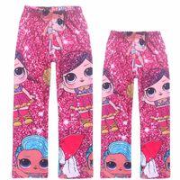 Wholesale children winter tight pant resale online - Baby girl cartoon pants suprise girl printed children leggings in autumn spring kids lovely cute trousers slim pant