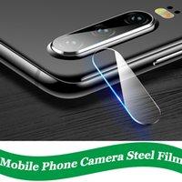 huawei ekran koruyucusu filmi toptan satış-Huawei için P10 Artı Onur Kamera Len Ekran Koruyucu temperli cam Huawei Mate 9 Nova Anti-çizik Telefon len Aksesuarları İçin Geri Len Filmi