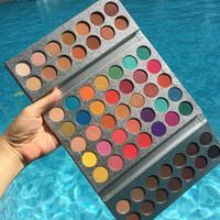 ingrosso palette di trucco glitter-Trucco up palette Splendida Me vassoio 63 della gamma di colori di scintillio Brown e la Terra Colore Marca Beauty smaltato