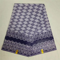 tecidos java print venda por atacado-Africano tecido de impressão 6 metros de tecido africano atacado barato cera java cera Ankara para vestido NA031353