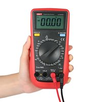 probadores uni al por mayor-Multímetro digital Probador UNI-T UT890D LCD Multímetro Voltaje Corriente Capacitancia Resistencia Diodo Voltímetro Amperímetro Probador