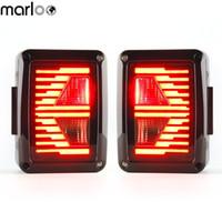 LED Tail Lights For 2007 2008 2009 2010 2011 2012 2013 2014 2015 Jeep Wrangler Brake Reverse Light Rear Back Up Light DRL