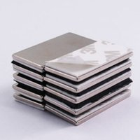 Brand New 10pcs N42 Strong Block magnet 50x16x1.5mm Magnet Rare Earth Neodymium Permanent magnetic block with 3M tape