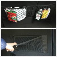 Wholesale vw jetta mk6 accessories online - 1pc Car styling Trunk Nylon Rope Luggage Net Nets For VW GTI Passat B5 B6 CC Tiguan Golf MK6 Polo Bora Jetta Accessories