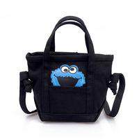 67cbd8620988 girls satchels UK - Kids Crossbody Bag Canvas Messenger Bag Satchels For  Boys Girls Cartoon Printing