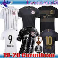 thai-fußball-trikots großhandel-Thailändische Qualität 2019 2020 Brasilien Korinth Paulista Fußballtrikot 19 20 CLAYTON JADSON ROMERO PABLO M.GABRIEL drittes Fußballtrikot Trikot