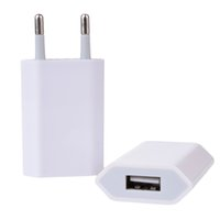 Wholesale iphone 4s usb wall charger online – Etmakit Universal EU Plug USB Power Home Wall Charger Adapter Travel Power Charging Adapter For Apple iPhone X S S s