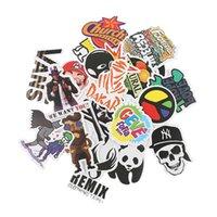 stilleri araba etiketi graffiti toptan satış-100 Adet / takım Araba Çıkartmaları Araba Aksesuarları Graffiti Motosiklet Bisiklet Kaykay Dizüstü Çıkartmalar JDM Sticker Araba Styling için TH09