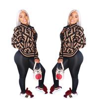 manteaux achat en gros de-Femmes Zipper Veste Lettre Imprimer Col Ras Du Cou Vestes De Baseball À Manches Longues Femmes Manteau Designer Sport Casual Club vêtements 2019 A3138