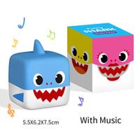 Wholesale shark toys games online - Shark Music Box Baby Shark Doll Cartoon Music Light Shark Animal Toy kids Christmas Gift Action Figure Model Toys Novelty Games GGA1663