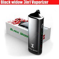 Wholesale 3in1 vape resale online - Authentic Black Widow Kingtons in1 wax oil dry herb mod box kit herbal vaporizer e juice Liquid vapor mods vape pen e cigarettes Kits DHL