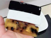 ingrosso accessori della scatola della miscela-2 pezzi / set stile misto ispirato lusso designer perno di capelli Moda clip di capelli matel per accessori per capelli marchio C con regalo C pin regalo VIP