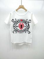 tierdrucke großhandel-1227 2019 Frühlingssommermarke Gleichen Stil T Shirts Kint Rundhalsausschnitt Flora Print Shirts Pullover Prom Shirts Animal Print QIAN