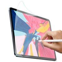 antideslumbrante para ipad al por mayor-Película protectora de pantalla para iPad Pro 2018 12.9 11 10.5 9.7 7.9 pulgadas PET mate antideslumbrante Película de pintura portect
