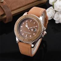 молодежные часы оптовых-Роскошные мужские кварцевые часы с модным кожаным ремешком дизайнерские молодежные студенческие наручные часы модные спортивные часы отдыха оптом