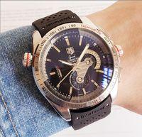 наручные часы силикон оптовых-Керамическая рамка Мужская Механическая Силиконовая нержавеющая сталь Автоматические часы с автоподзаводом Спортивные наручные часы