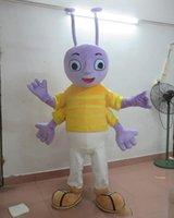 maskot kostüm başları satışı toptan satış-2018 Yüksek kalite yetişkin giymek için baş karınca maskot kostüm for sale