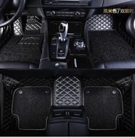 alfombrillas de auto 3d al por mayor-Alfombrillas personalizadas para Mitsubishi Lancer Galant ASX Pajero sport V73 V93 3D car styling revestimiento de piso alfombrado