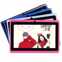 Wholesale intel tablet quad core online - 7 quot Inch Tablet PC Android GB Memory Dual Core Dual Cameras Wifi Multi Color