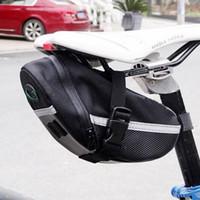 ingrosso schienale biciclette-Borse da bicicletta impermeabili Ciclismo Reggisella posteriore Borse da bici Borsa da coda per sedile posteriore Accessori MTB Road Mountain Bike ZZA458