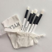 Wholesale fiber manufacturers for sale - Group buy and Direct Sale of New Five White Brushes Brushes Sets and Cosmetic Tools by Manufacturers in
