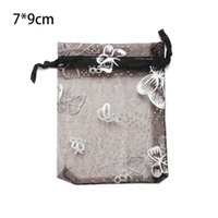 Organza Bag of 100pcs lot Wedding Pouches Nice Gift Bag Jewelry Packaging Transparent Gauze Storage Pouch