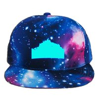 Wholesale baby boy baseball hats caps for sale - Group buy Game them Baby Boy girl Adult baseball Caps with Blue Luminous Acrylic sun Hat Night Lights hats For Men Women L132W