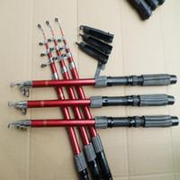 Wholesale-New Outdoor Sport Sea Fishing Telescopic 1.8M Fish Rods Fishing Rod Luxury Fishing Free Shipping