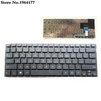 teclados sin marco al por mayor-Nuevo teclado para Asus UX301L UX301LN UX301 UX301A UX301LA US teclado inglés sin marco negro