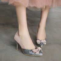 размер 12 каблуков оптовых-Большой размер 11 12 13 14 женские туфли на высоком каблуке женская обувь женщина туфли на высоком каблуке мода остроконечные мелкие высокие каблуки