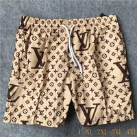 yeni pantolon desenli erkekler toptan satış-Yeni Kurulu Tasarımcı Şort Erkek Yaz Plaj Şort Pantolon Yüksek Kaliteli Mayo Bermuda Sörf Erkekler Yüzmek Fil Desen Şort
