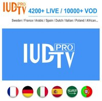 Wholesale apk tv android for sale - Group buy 1 Year IUDTV PRO Sweden Subscription Code Swedish Arabic French Spanish M3U APK For Android TV Box