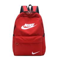mini mochila dama al por mayor-Mochilas de diseñador 2019 moda mujer dama negro rojo mochila bolso encantos mini mochila mini mochila7