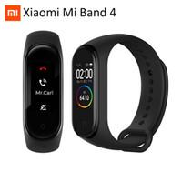 pulseiras quentes venda por atacado-Hot Original Xiaomi Mi Banda 4 3 Pulseira relógio inteligente Heart Monitor Pulseira Miband 4 OLED Touchpad sono Taxa de Fitness Rastreador