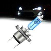 yüksek güçlü halojen lamba toptan satış-H7 Halojen 100W 12V Süper Parlak Beyaz Sis Lambaları Halojen Ampul High Power Car Farlar Lambası Araç Işık Kaynağı park Ultra