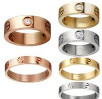 ingrosso i monili di modo di migliore qualità-Gli amanti anelli in titanio anello nuziale Carter Cross anelli gioielli moda migliori amici di alta qualità Promozione all'ingrosso