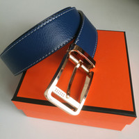 New Mens Designer Belts Luxury Belt Brand Belts Casual Fashion Smooth Buckle with H Brand Logo High Quality Jeans Cow Strap Hot 2020with Box