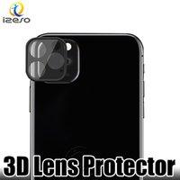 стеклянные линзы 3d оптовых-Объектив Стеклянный Протектор Совместимость с iPhone 11 Pro XS MAX XS 8 Plus Huawei Mate 30 P30 Pro задняя камера защитная пленка izeso
